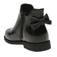 Black Crafted Chelsea Boots Child Girls