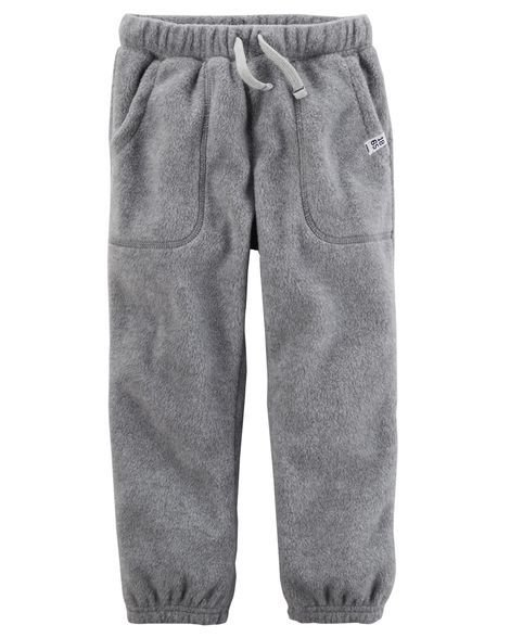 Heather Pull-On Fleece Joggers