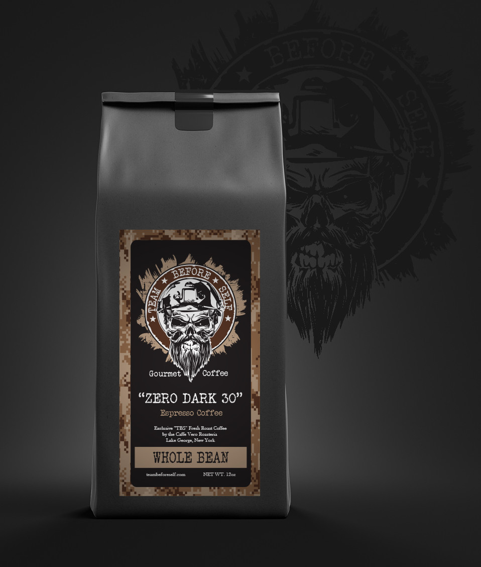 """ZERO DARK 30"" Espresso Coffee"