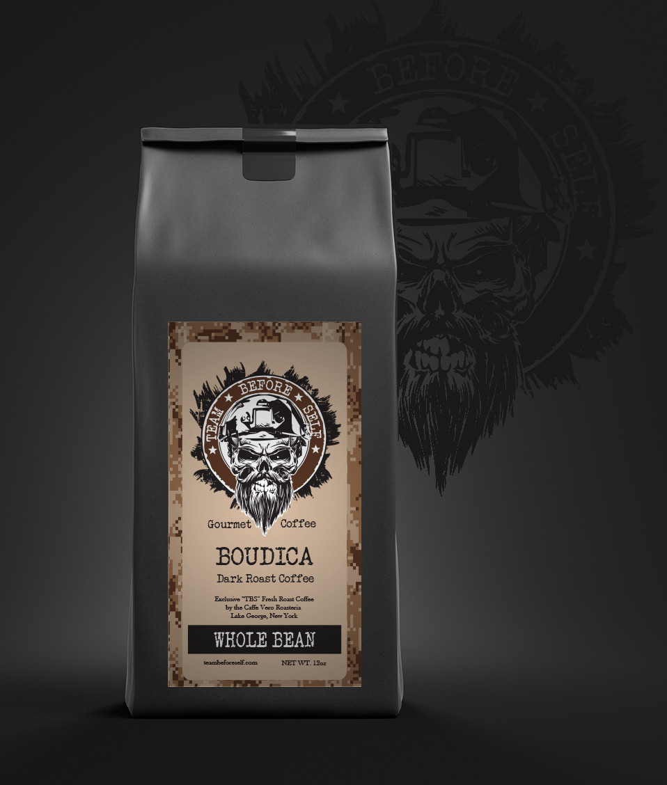 """Boudica"" Dark Roast Gourmet Coffee"