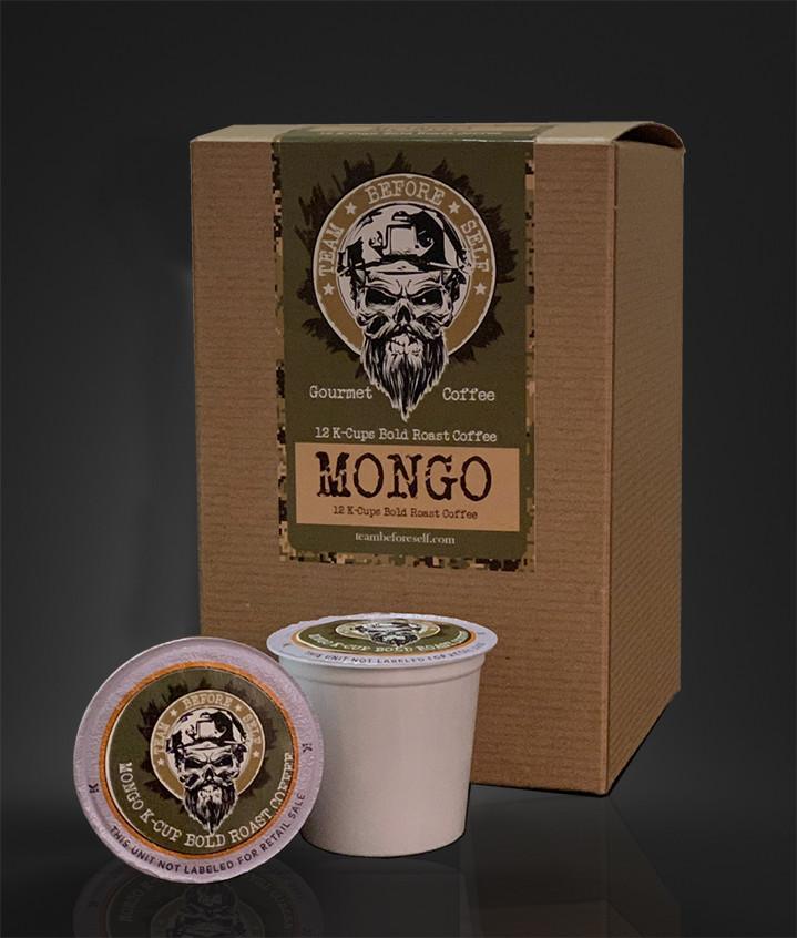 """Mongo"" Bold Roast Gourmet Coffee K-Cup"