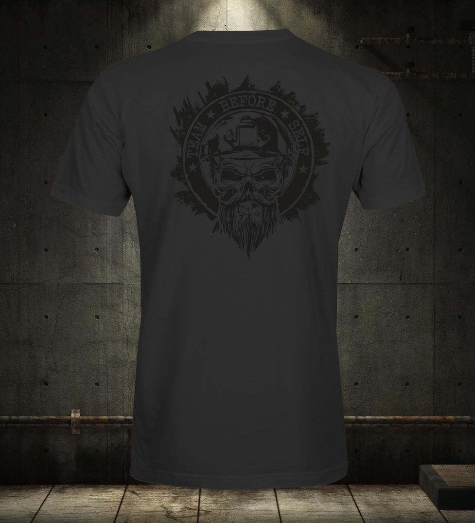 TBS Black On Black Sabre Premium T-Shirt