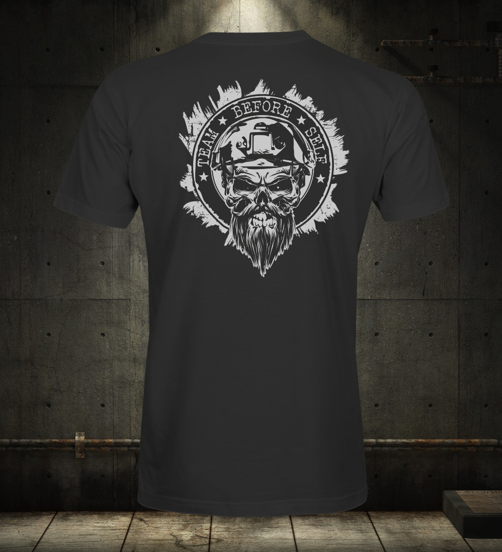 TBS White On Black Sabre Premium T-Shirt