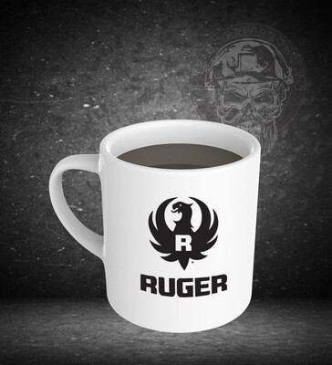 Ruger 15oz White Ceramic Mug