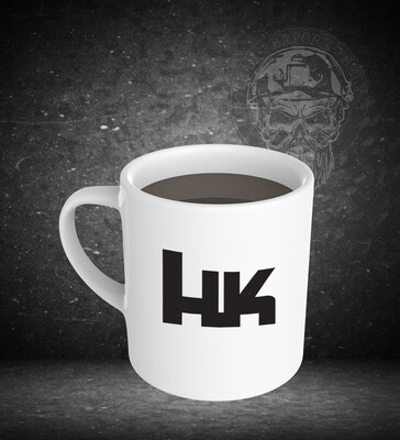 Heckler Koch 15oz White Ceramic Mug