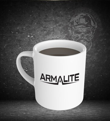 Armalite 15oz White Ceramic Mug