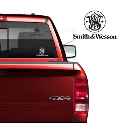 Smith & Wesson Car Decal