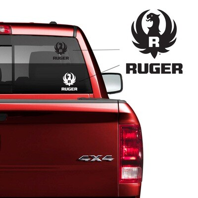 Ruger Car Decal