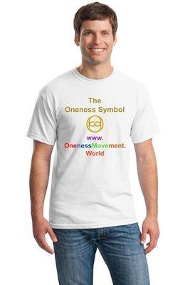 ONENESS SYMBOL T-SHIRT WHITE