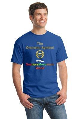 ONENESS T-SHIRT BLUE