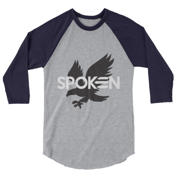 3/4 sleeve Eagle Logo Tee