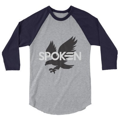 3/4 sleeve Eagle Logo Tee