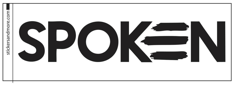 Spoken Sticker