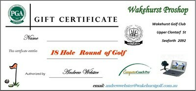 18 Holes Round of Golf Voucher
