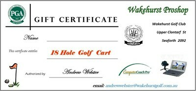 18 Holes Golf Cart Hire