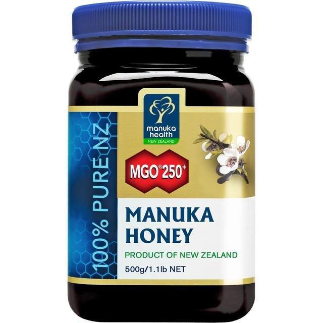 דבש מאנוקה - הדבש הניו-זילנדי המקורי. כמות כפולה! ריכוז MG250! במבצע