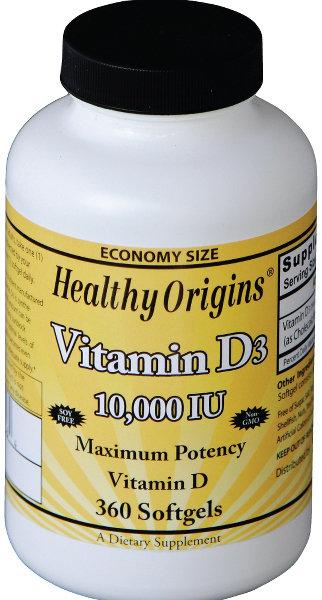 ויטמין D10,000 - חזק, איכותי, ומשתלם