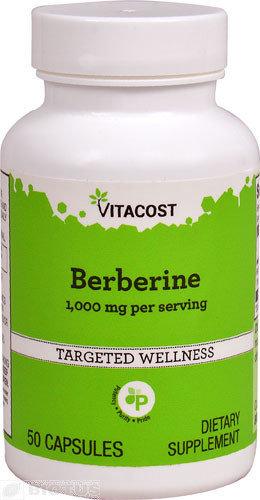 """Berberine   ברברין 1,000 מ""""ג"""