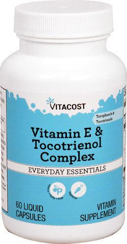 ויטמין E   עם קומפלקס טוקוטריאנול וטוקופרול- 8 מרכיבים