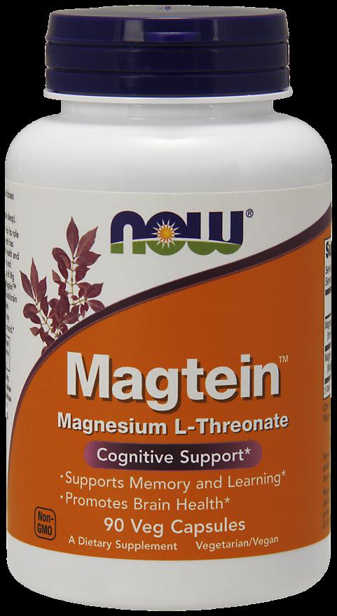 Magtein - תמיכה בבריאות קוגניטיבית ותפקוד המוח
