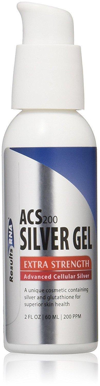 "ACS200 - ג'ל כסף וגלוטתיון בחוזק מוגבר - 59 מ""ל"