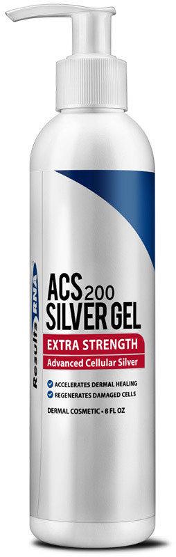 "ACS200 - ג'ל כסף וגלוטתיון בחוזק מוגבר - 236 מ""ל"