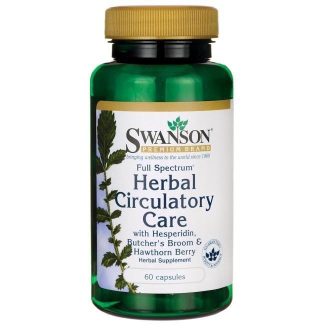תמיכה צמחית במחזור הדם - Herbal Circulatory Care