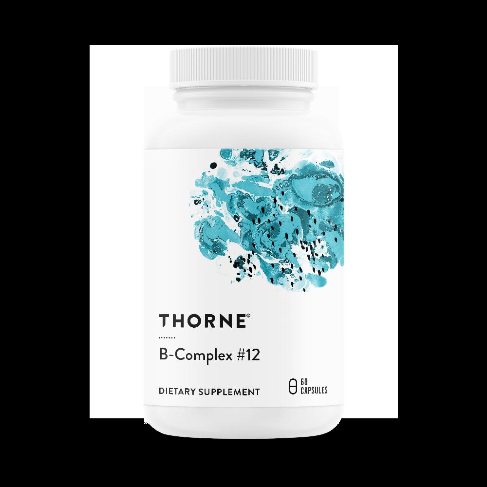 בי קומפלקס #12 - תשלובת ויטמיני B עם תגבור של מתיל-B12 וחומצה פולית טבעית