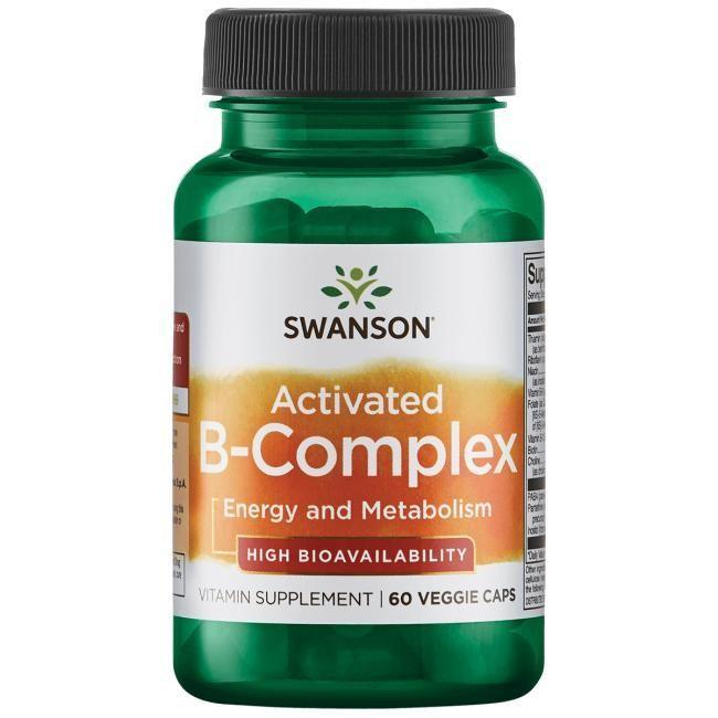 ויטמין B קומפלקס פעיל בזמינות ביולוגית גבוהה