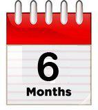 2-5 stores - 6 Month Membership 2-5 6