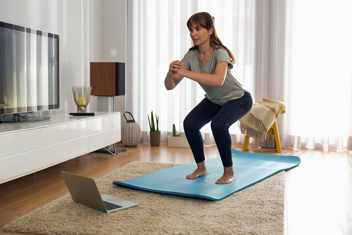 Online Group Fitness Class