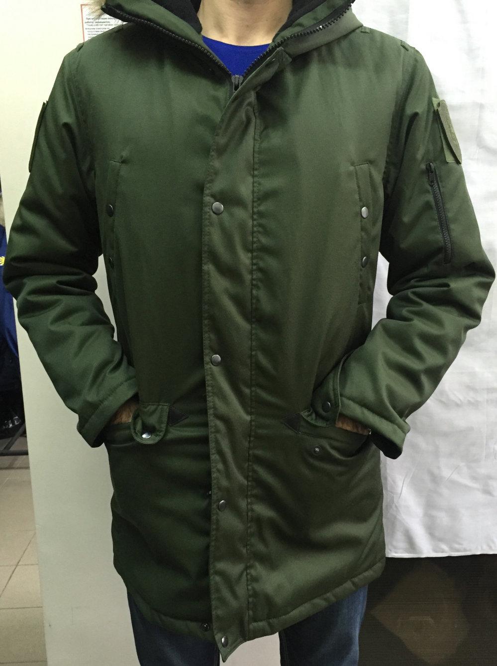 Куртка утепленная штабная (зелёная)