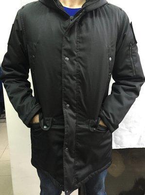 Куртка утепленная штабная (чёрная)