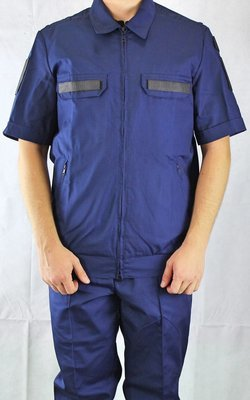 Офисный костюм ВВС синий