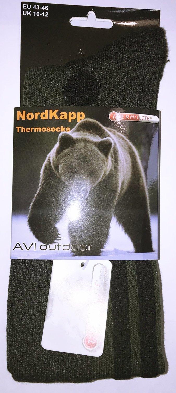 Термоноски NordKapp (олива)