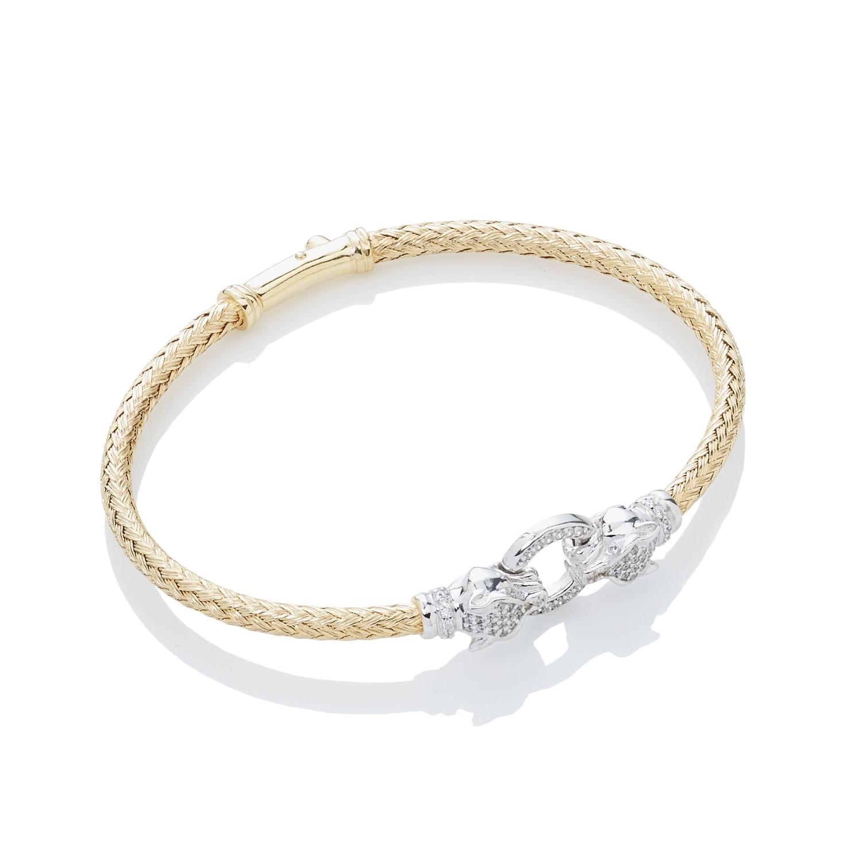 Monaco mini bangle brace gold