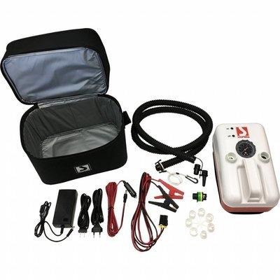 Scoprega BRAVO 20 elektrische Luftpumpe 12 V für SUP-KITE Schlauchboot etc