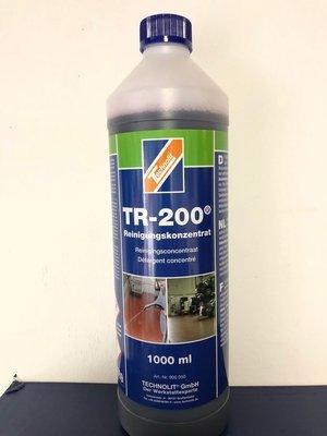 TR200 Reinigungskonzentrat (1 Liter) für extreme Verschmutzung inkl. 1 Sprühflasche