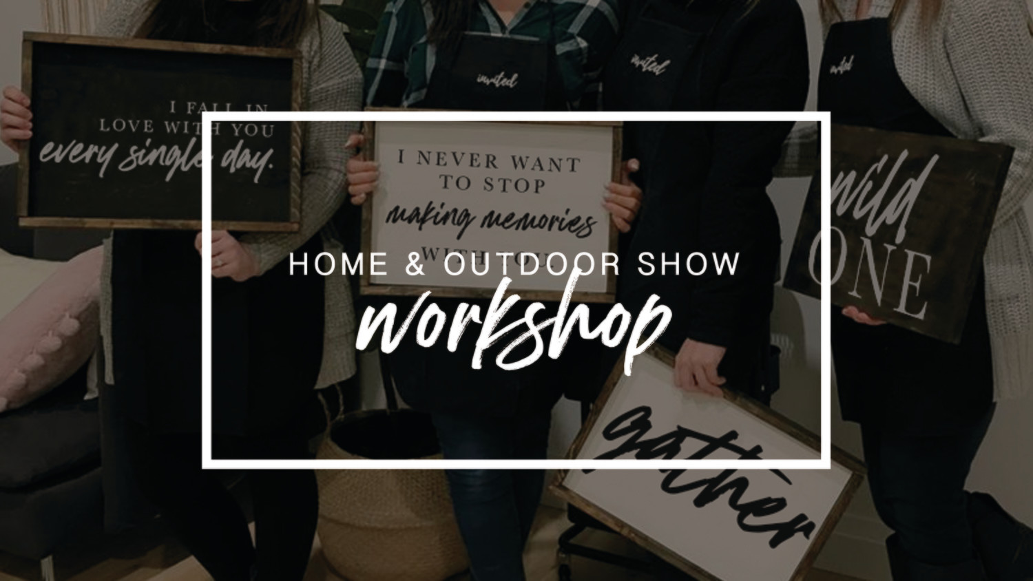 Sign Party - Home & Outdoor Show