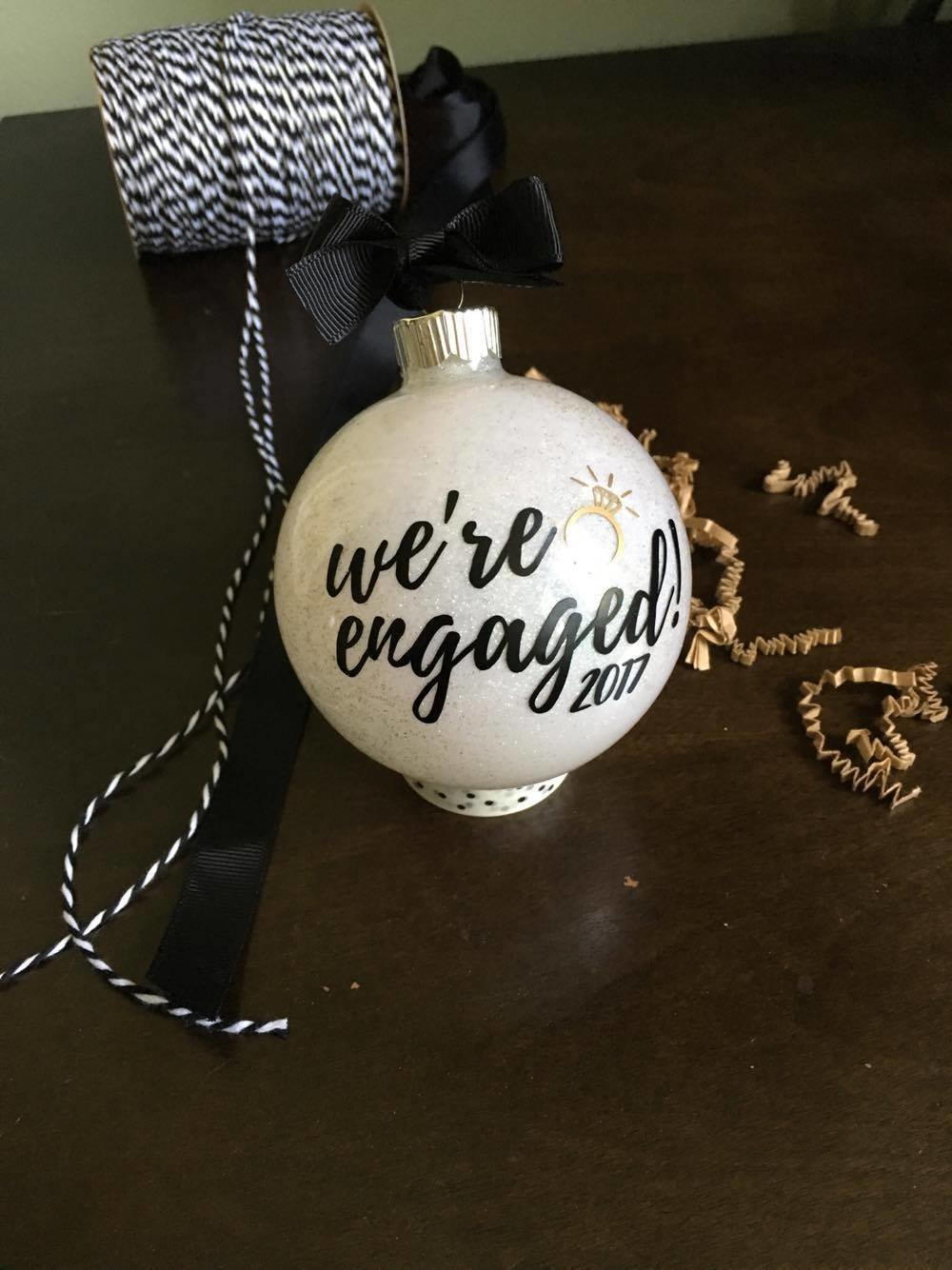 White - We're Engaged - SOLD OUT 00114