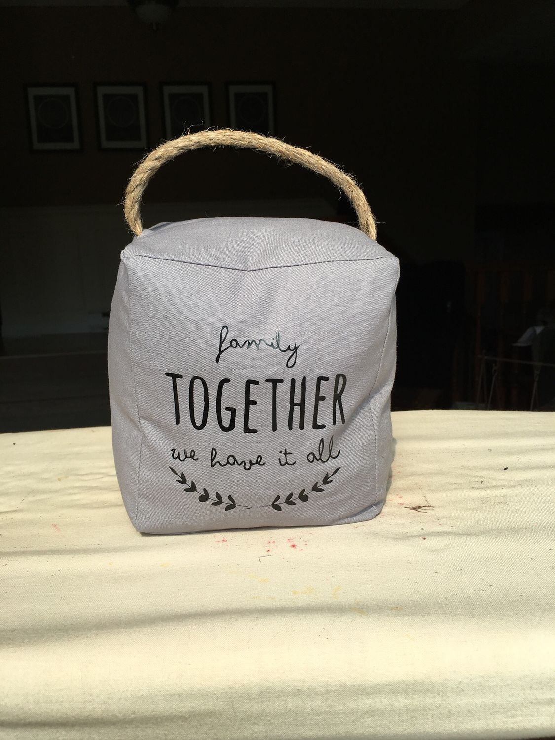 Door Stop - Family Together, we have it all - SOLD OUT