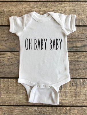 Oh Baby Baby | Baby Onesie