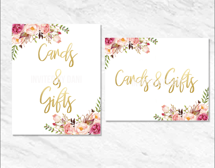 Peonies | Cards & Gifts | Printable Good