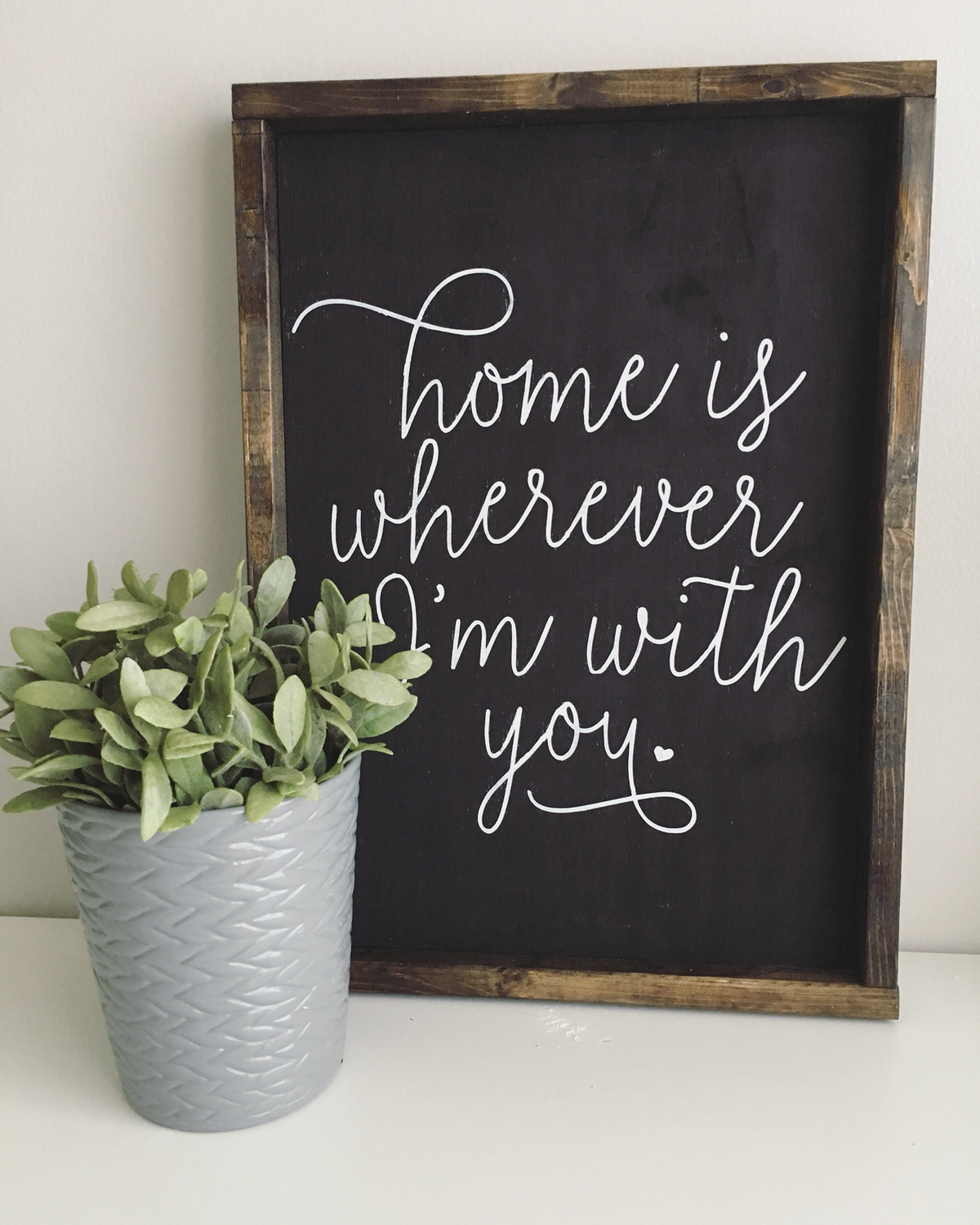 """""""Home is wherever I'm with you"""" 
