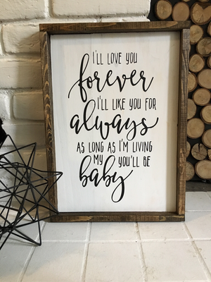 """""""My Baby You'll Be"""" Script 