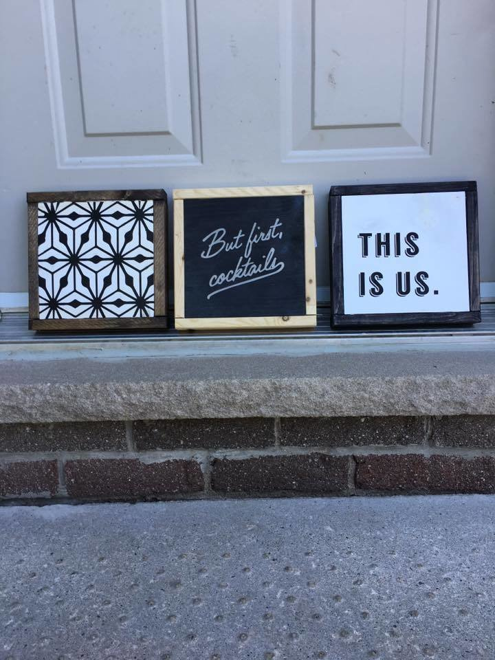 7x7 Minis | Wood Signs