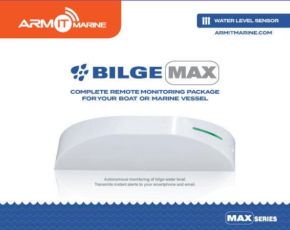 ARMIT BilgeMAX™ | Wireless Boat Bilge Alarm Monitor Kit : BLGEMAX_WH-G2