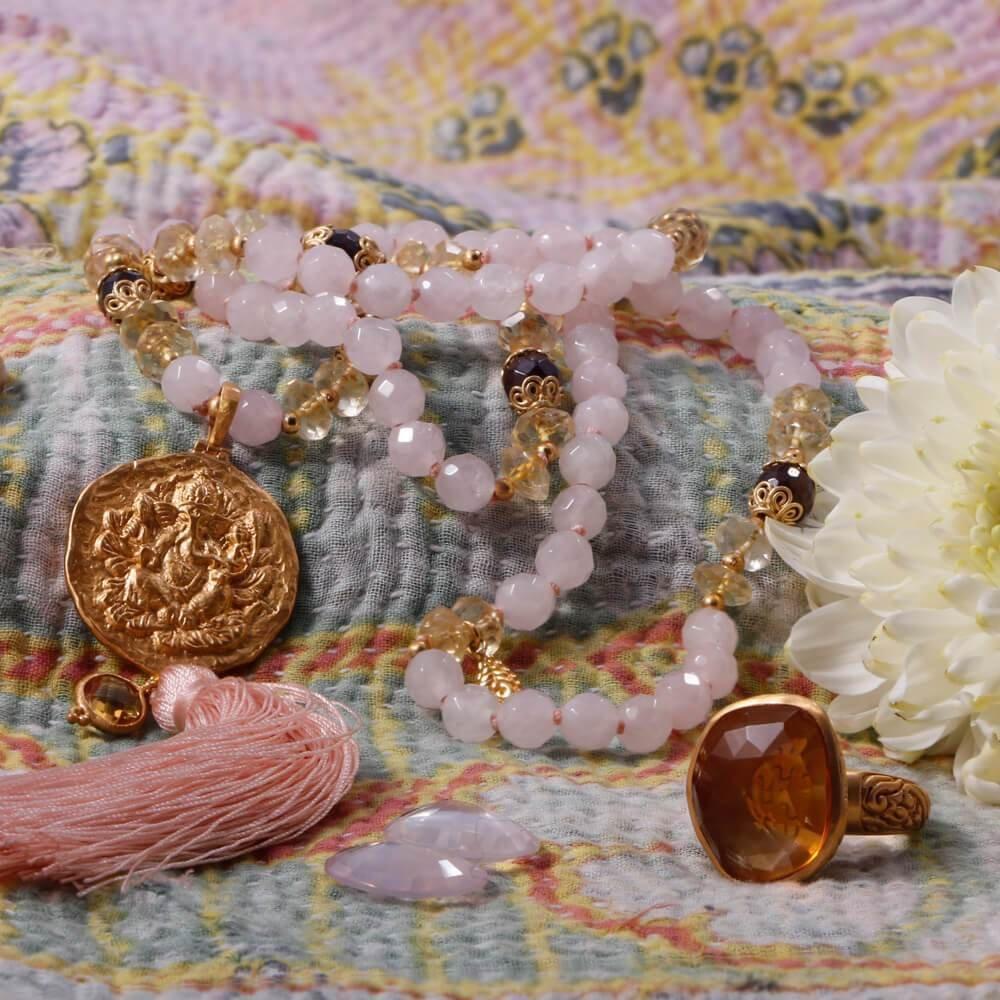 Divine Guidance Mala • Gold Vermeil