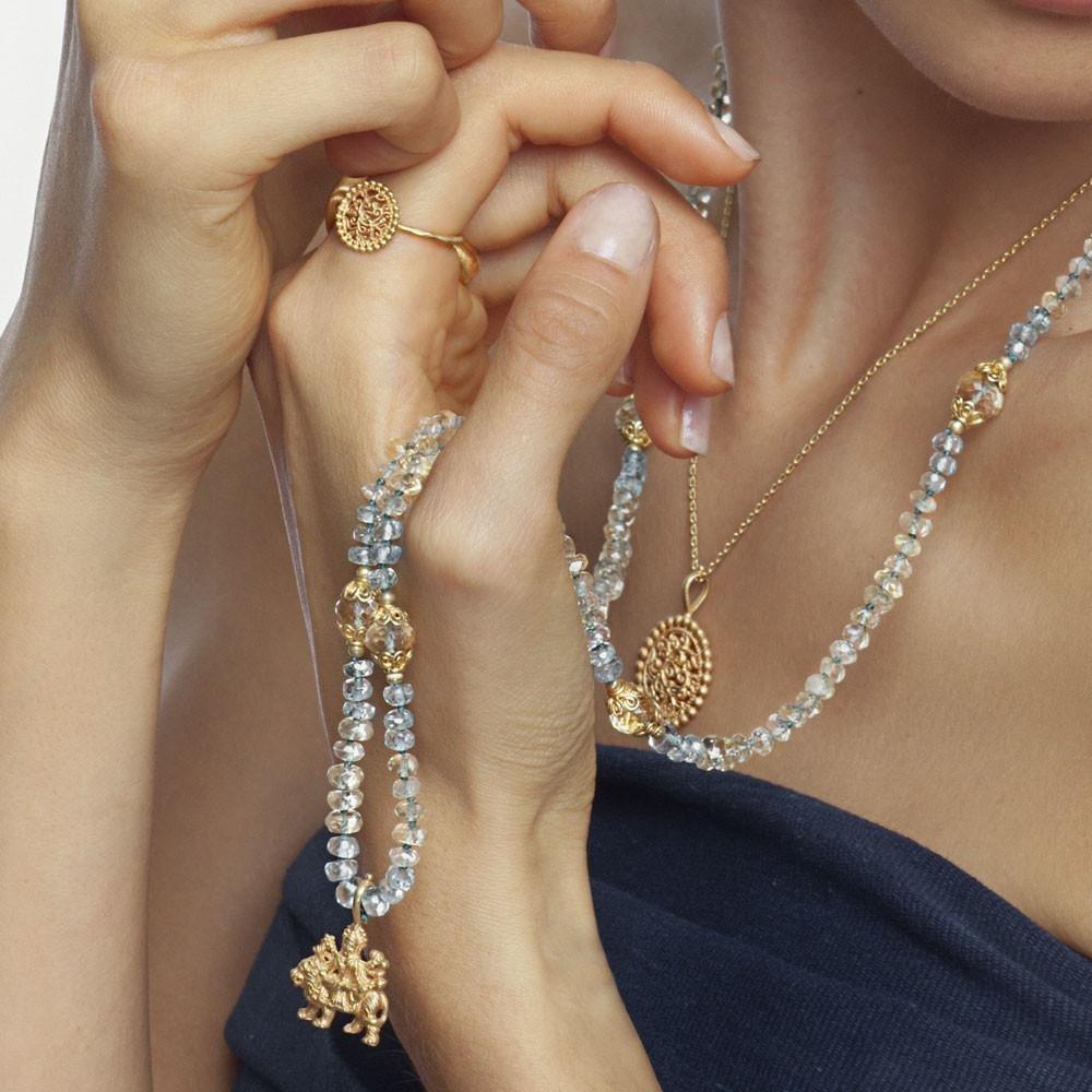Durga Mala • Gold Vermeil