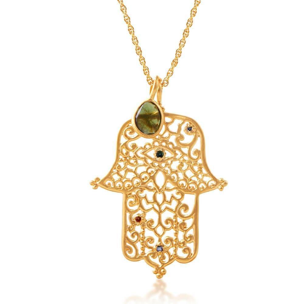 Raksana Necklace • Gold Vermeil